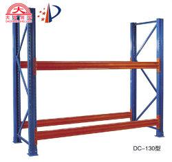 高品質の産業金属の反腐食性の中型の義務選択的なパレット保管倉庫の長いスパンの棚
