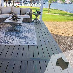 熱い販売の低い拡張の木製のプラスチック合成の外面WPCのフロアーリングの板