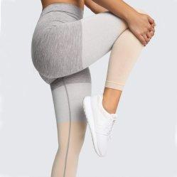 Сжатие OEM одежду четыре способ растянуть фитнес-Колготки для женщин