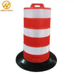 Canhão de tráfego rodoviário / Barril de plástico de Aviso de Segurança Rodoviária
