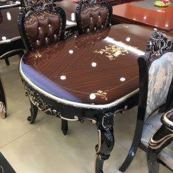表の木のダイニングテーブルを食べる2020現代デザイン居間の家具グループ