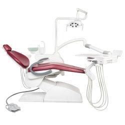 Niedriger eingehangener zahnmedizinischer Stuhl des LED-Lampen-kompletter x-Strahl-Hy-A14 mit zahnmedizinischem Mikroskop