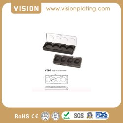 Augenschminke-Paletten-Kasten-Vertrags-Kasten-Kosmetik, die Plastikkasten verpackt