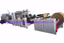 Formato de Corte Quadrado Saco de papel inferior Hongpeng máquina de fazer