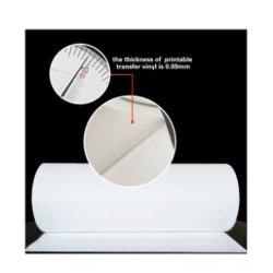 Papel de transferencia para camisetas oscuro para 100% algodón tejido calor