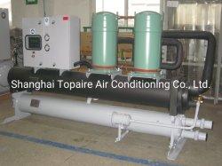 Refroidisseur de liquide de refroidissement par eau Faites défiler vers le R134A avec deux compresseurs de défilement