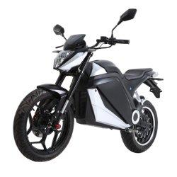 motociclo elettrico ad alta velocità della bici della via di 17inch 72V3000W