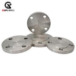 La brida ciega de acero inoxidable forjado ASME B16.5 304 316 304L 316L fabricante OEM