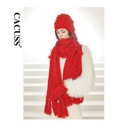 Cacuss hochwertiger Custome Schutzkappen-Schal und Handschuhe 3
