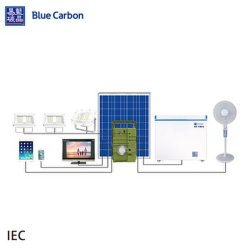 12V UPS hors réseau portable de l'énergie solaire Système de vente en gros d'alimentation CC
