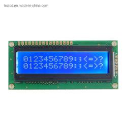 1602 산업 단색 LCD 모듈 I2c 8 비트 병렬 Splc780d1 통제 Stn 16X2 특성 LCD 디스플레이