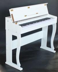 Tastiera di piano infantile del giocattolo del mini piccolo bambino acustico di legno del bambino per il capretto
