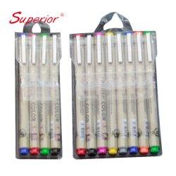 Crochet d'artisanat professionnelle supérieure Fineliner stylo pour peinture dessin à colorier