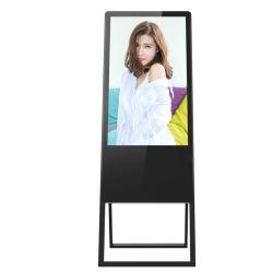 55-дюймовый ЖК монитор с сенсорным экраном складные наушники с Android системы Digital Signage для установки внутри помещений
