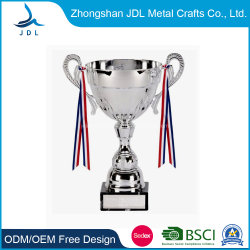 Custom High Quality Champion League Silver Metal Sport/World Cup Trophy (008)