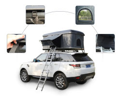 La Chine Fabricant Rainproof de plein air de gros SUV Auto Toit rigide tente Tente Safari