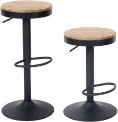 Деревянную планку табурет регулируемая высота кухни бар табурет один завтрак стул со спинкой Vintage бар стул деревенском поворотный бар табурет