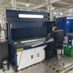 Передний Downdraft Self-Cleaning и источником вдохновения для полировки шлифовальной пыли и дыма рабочий стол чист и 7,5 КВТ 8000 м3/ч воздушного потока