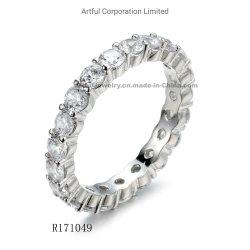 2021 신식 견인삭 고정되는 은 반지 형식 보석 은 보석
