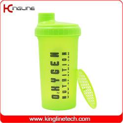 2020 Новая конструкция 700мл белок вибрационное сито бисфенол-А пластиковую бутылку воды (KL-7027C)