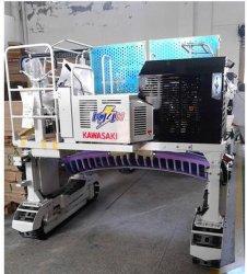 Kawasaki Reiten-Typ Tee Zupfen-Trimmmaschine Tea Harvesting Machine Kj4n