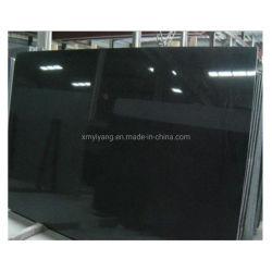 Negro/Blanco/Negro puro absoluto granito para la decoración del hotel/sobremesa/encimera/suelos de baldosa/Losa/Vanitytop
