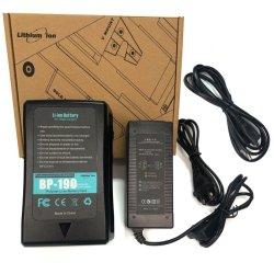 Batteria V-Lock BP-190W Bp190W BP-190 per Sony HDW-800p PDW-850 DSR-250p 600p 650p