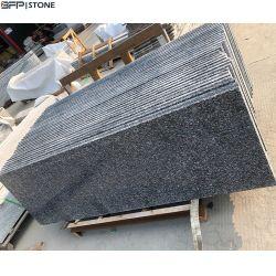 Hoch chinesische schwarze dunkle graue Polierfliesen des Granit-G654