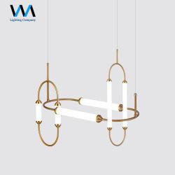 Design Arte nórdicos sala de jantar Lustre LED acrílico