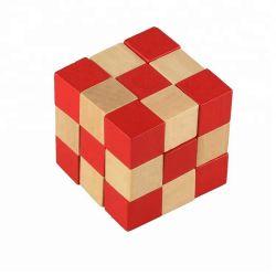나무로 되는 입방체 수수께끼 3X3 게임, 접히는 마술 입방체 수수께끼 해결책, 입방체 장난감 수수께끼