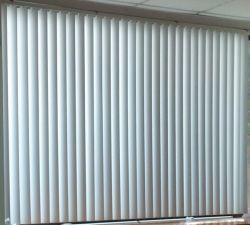 Interieur Raam Decoratie Waterdicht 89mm PVC verticale Raam blind
