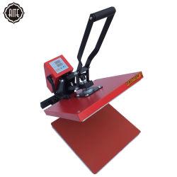 La prensa de calor transferencia por sublimación de la máquina de impresión ropa camiseta