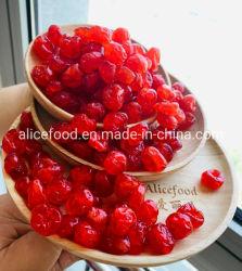 乾燥した共通様式によって乾燥される赤いチェリーの酸っぱいチェリー