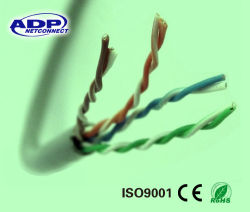 8 conducteurs de type Cat 5e câble réseau Cat5e PVC LSZH