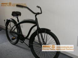 26 '' Geschwindigkeits-Stahlstrand-Kreuzer-Fahrrad des Mens-7