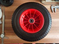 中国の製造業者の芝刈機のためのプラスチック縁が付いているよい量16inch 6.50-8 PUの泡の車輪
