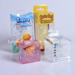 Custom Clear складные печати ПП и ПВХ/Pet пластиковой упаковке