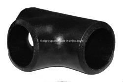 90の程度のバット溶接継ぎ目が無い炭素鋼の肘ASTM A234 Wpb B16.9/16.25/16.49の炭素鋼の管付属品の等しいティーの管付属品