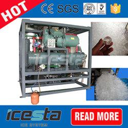 판매 60t/24hrs를 위한 수정같은 관 제빙기 기구