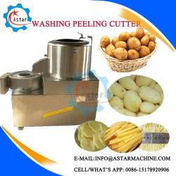 100kg/h China directamente de fábrica de acero inoxidable oferta Cortador de patatas