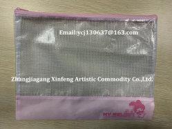 사용하기 편한 학교 플라스틱 지퍼 PVC 서류철 부대 지퍼