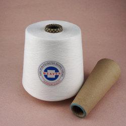 Het 100% Gesponnen Garen van de Polyester voor het Naaien Ruw Wit 40/3 van de Draad