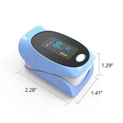 LED de médicos o oxímetro de pulso de Dedo Portátil do dedo no monitor de saturação de oxigênio no sangue dos cuidados de saúde a SpO2 PR