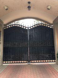 Poort de van uitstekende kwaliteit van het Smeedijzer als Poort van de Tuin van de Deur van de Ingang