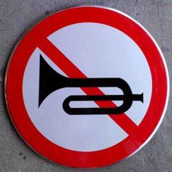 도로 안전을 위한 알루미늄 반사형 교통 표지