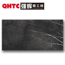 Таким образом площадь в ванной комнате пол керамическая плитка черного однородных не скользким застекленные фарфора 600X1200 деревенском плитки