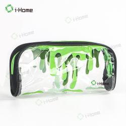 Heet verkoop de Gepersonaliseerde Transparante Holografische Kosmetische Zak van de Manier voor Vrouw