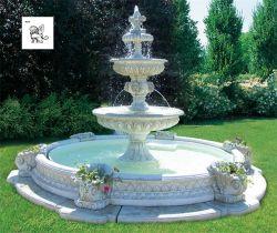 Decoração de jardim de vendas Grande Chafariz de pedra mármore Mfwg-19