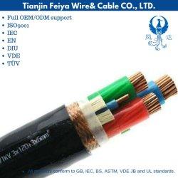 La Silice Bpggp Âme en cuivre du fil de cuivre tressé Isolant de caoutchouc blindé de la silice à gaine en caoutchouc du câble de la fréquence du transformateur