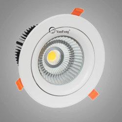 10W vertiefte PFEILER SMD LED Punkt-Lampe mit justierbarem Bohnen-Winkel